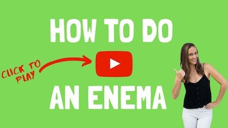 OM Detox video support: How to do an enema - click to watch the video