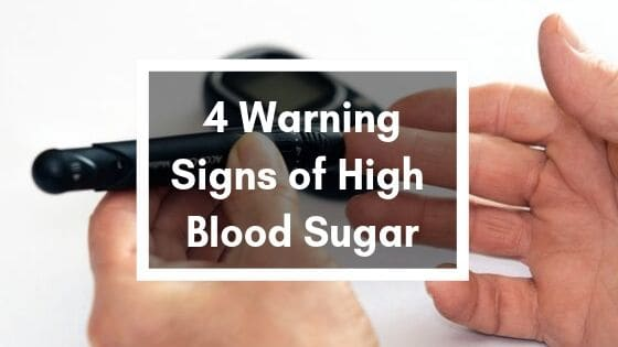 4 warning signs of high blood sugar, click to read